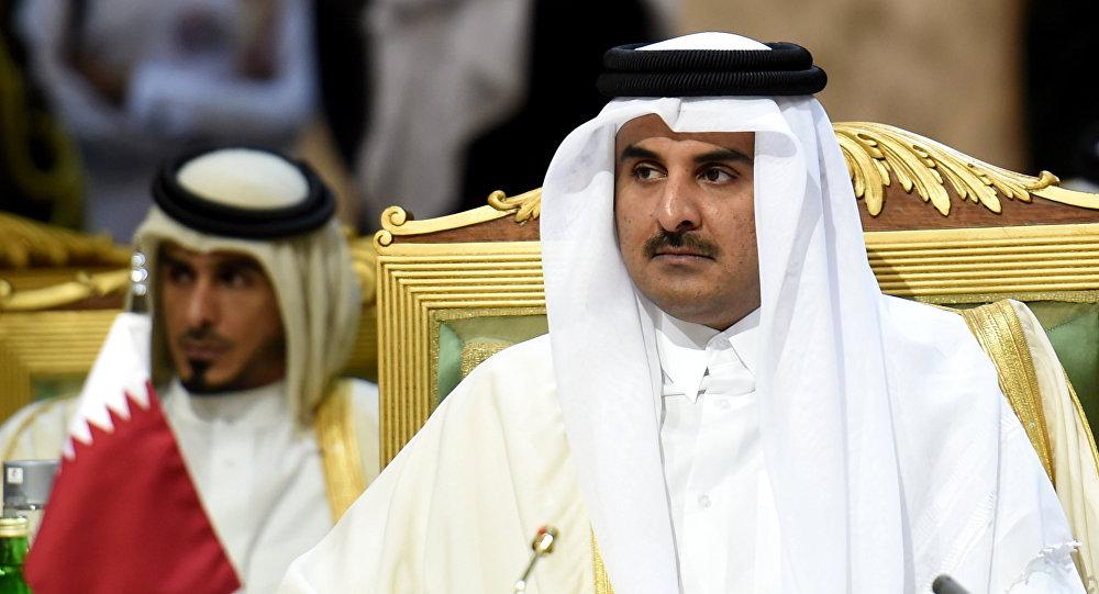 صورة أمير قطر: ما يجري في الغوطة جرائم ضد الإنسانية