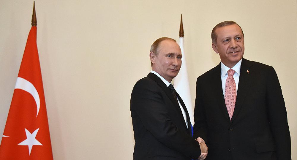 صورة الكرملين: بوتين وأردوغان بحثا التنسيق العسكري بسوريا