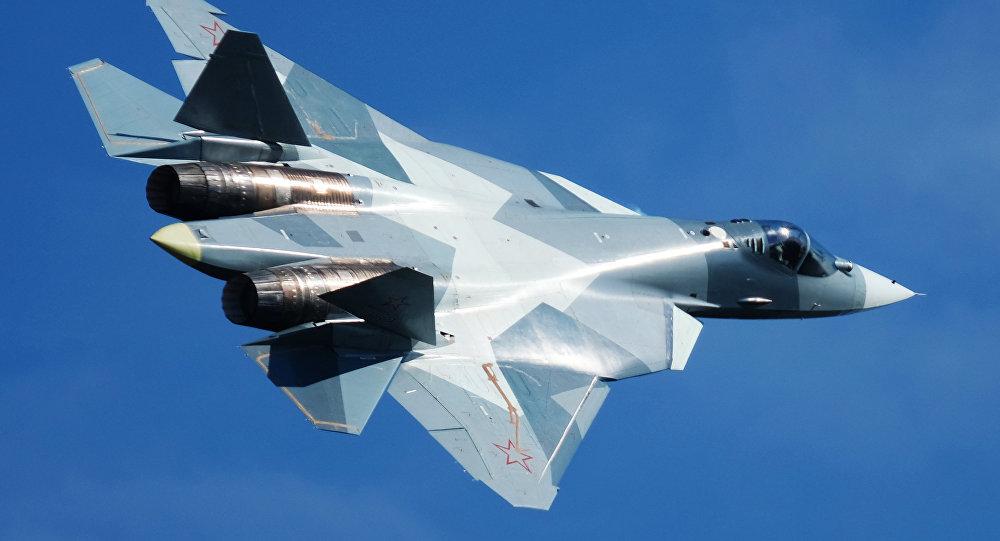 """صورة روسيا تختبر """"سو-57"""" بمهاجمة """"جيش العزة"""""""