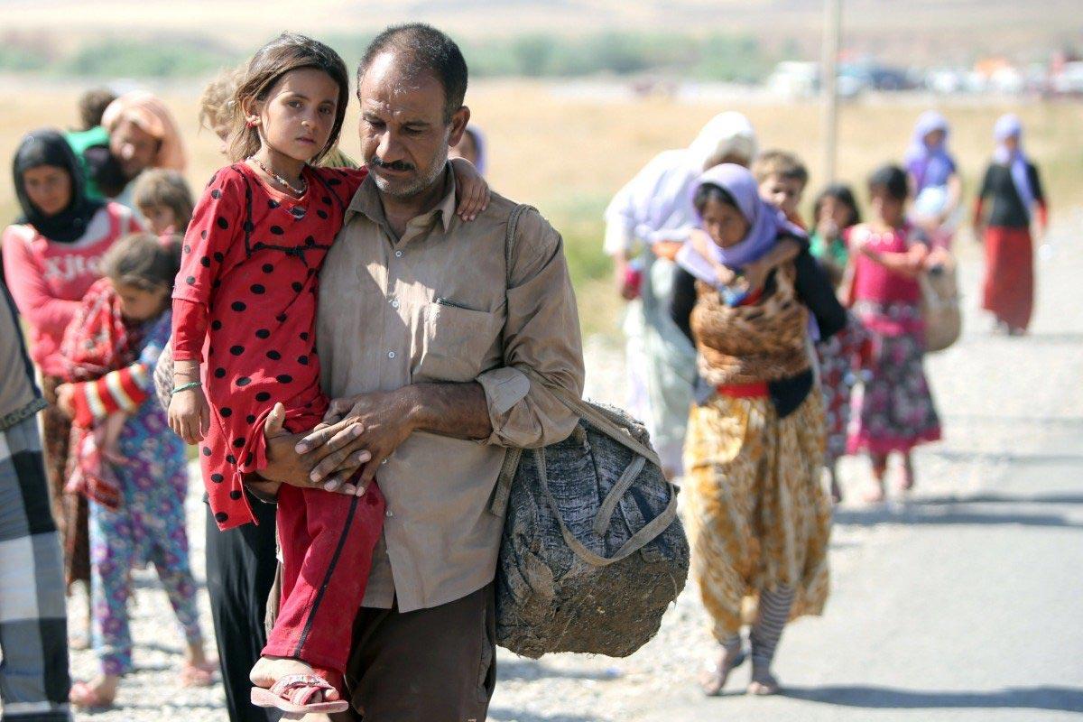 صورة رايتس ووتش: السلطات العراقية تجبر 235 عائلة على النزوح