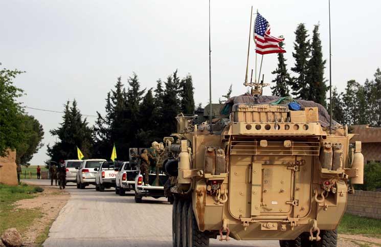 صورة استراتيجية واشنطن تدعم الأسد وإيران