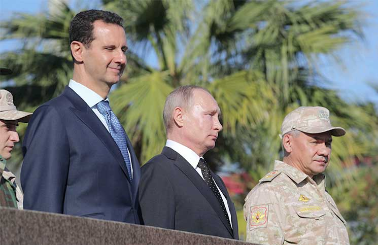 صورة امريكا أتلفت أعصاب الروس في سوريا