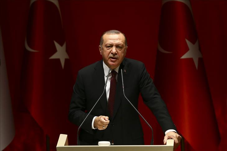 صورة أردوغان: نظام الأسد سيواجه عواقب دعم الوحدات الكردية