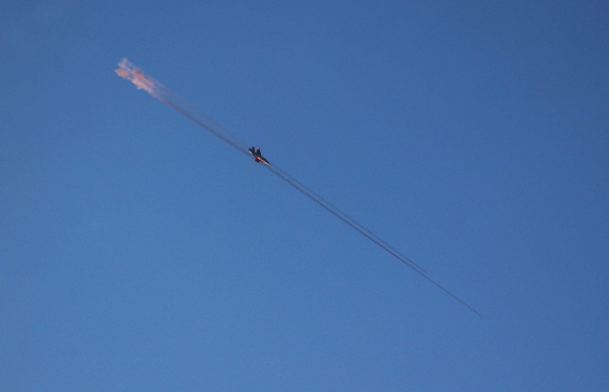 صورة روسيا تحرق إدلب والأسد يستخدم الغازات السامة