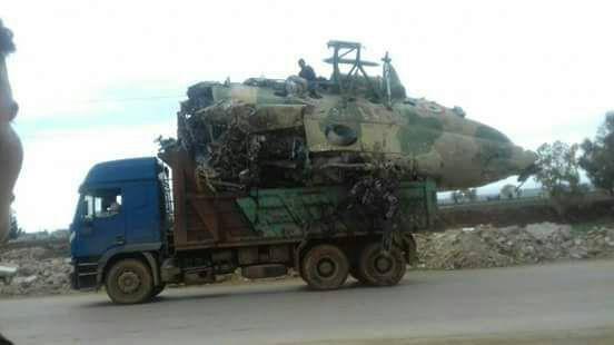صورة تحرير الشام تفرغ مطار تفتناز من الطائرات