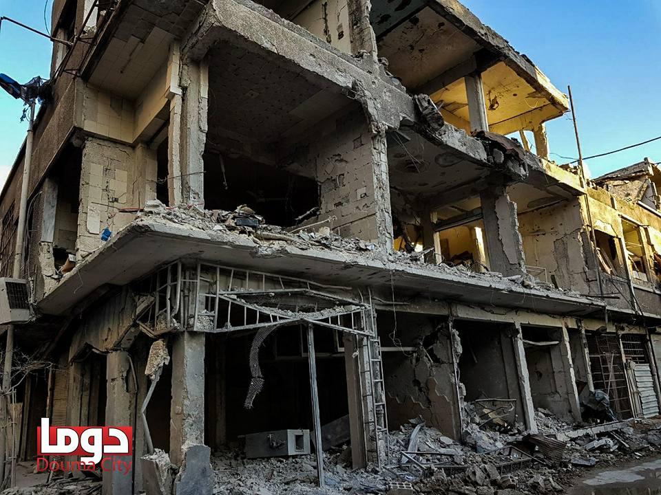 صورة الغوطة..منطقة خفض تصعيد تتحول لحجيم