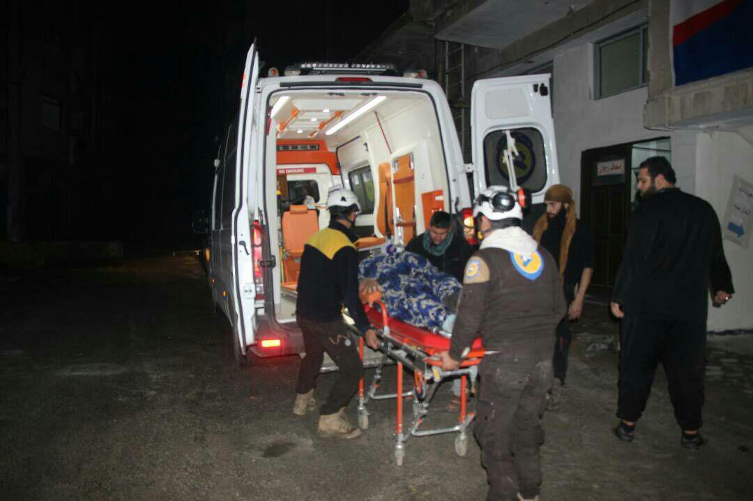 صورة إدلب..روسيا تدمر مشفى وتوقع ضحايا