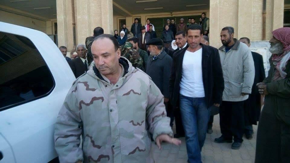 صورة اغتيال رئيس فرع الأمن العسكري في دير الزور