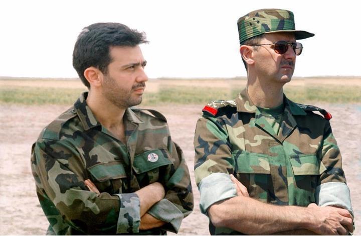 صورة ماهر الأسد يقود إبادة الغوطة