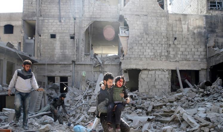 صورة غارديان: مأساة سوريا هزيمة أخلاقية لأوروبا