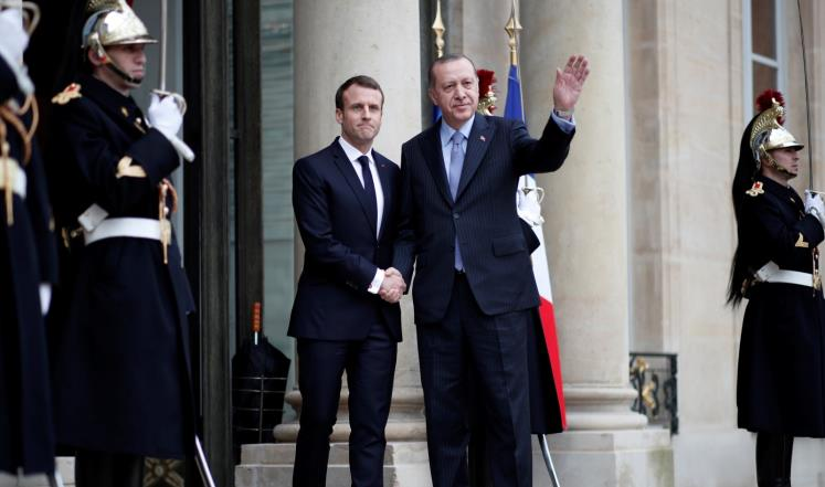 صورة خطة طريق فرنسية تركيا لحد النزاع بسوريا