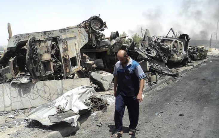 صورة إزالة القنابل من الموصل يحتاج أكثر من 10 سنوات