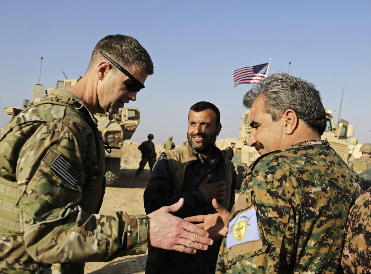 صورة صحف أميركية تحذّر من اشتباكات بين الجيشين التركي والأميركي بسوريا