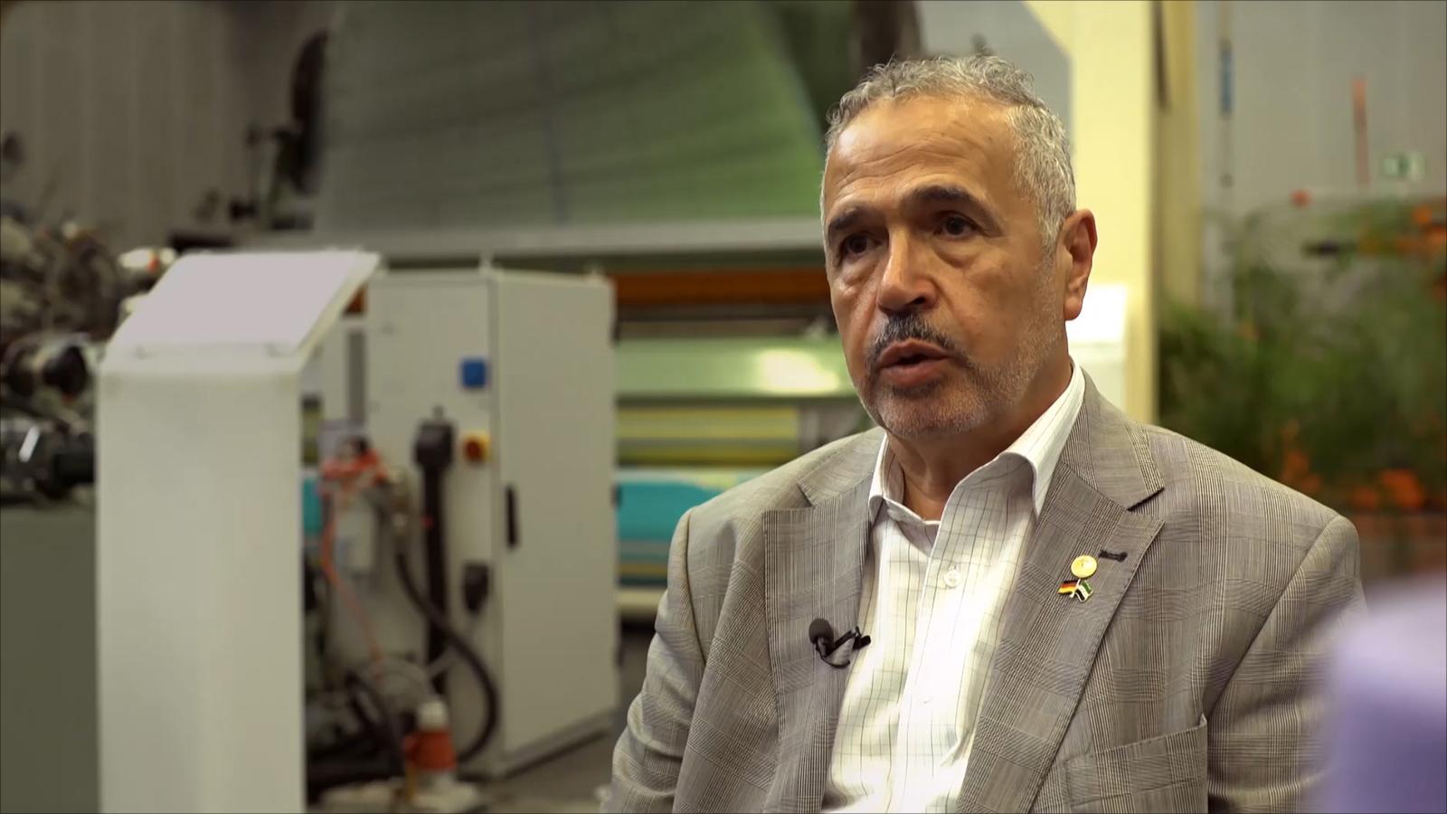 صورة عالم ومخترع سوري شارك في نهضة تركيا الصناعية