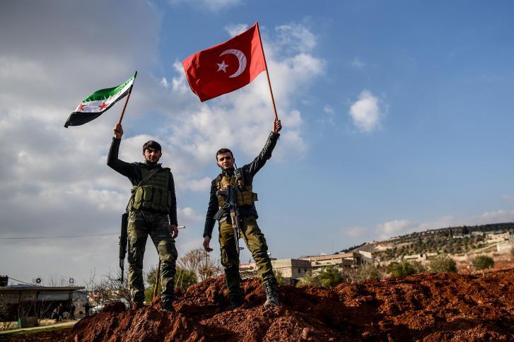 صورة غصن الزيتون..تحييد 899 هدفا ومقتل 7 جنود أتراك