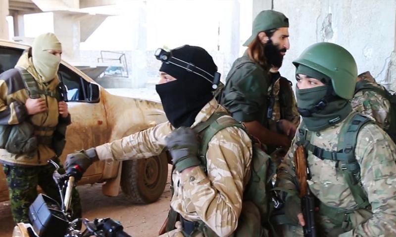 """صورة """"الحر"""" يبدأ معركة ضد جيش خالد ويتقدم"""