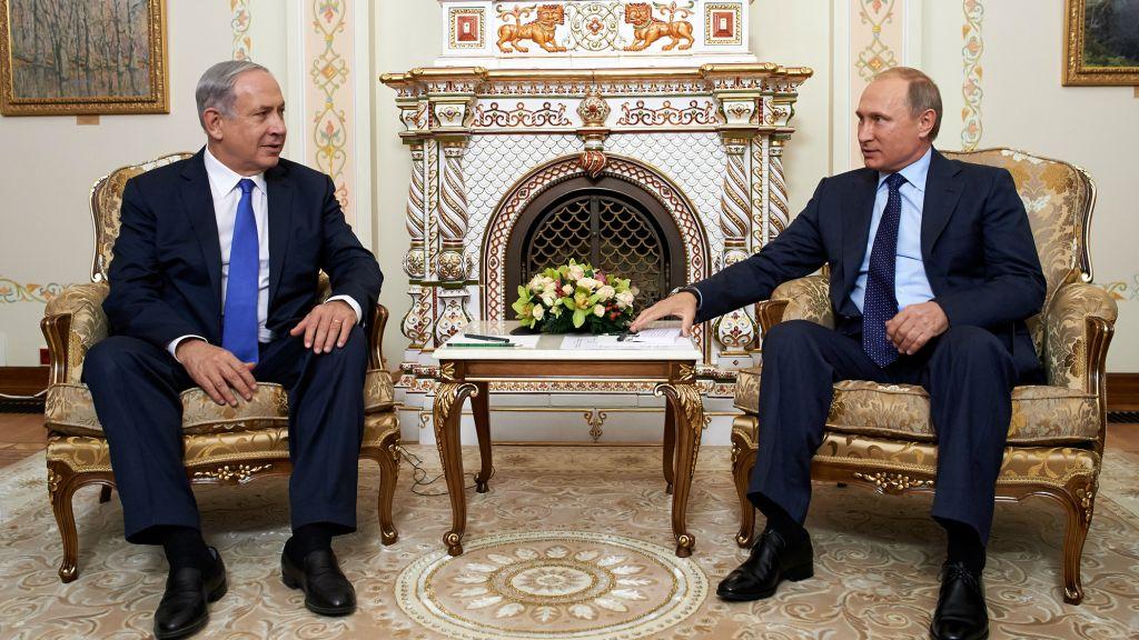 صورة إسرائيل تطلب من روسيا التدخل لوقف التصعيد بسوريا