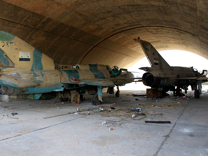 صورة الضربات الإسرائيلية توقف حركة مطار التيفور