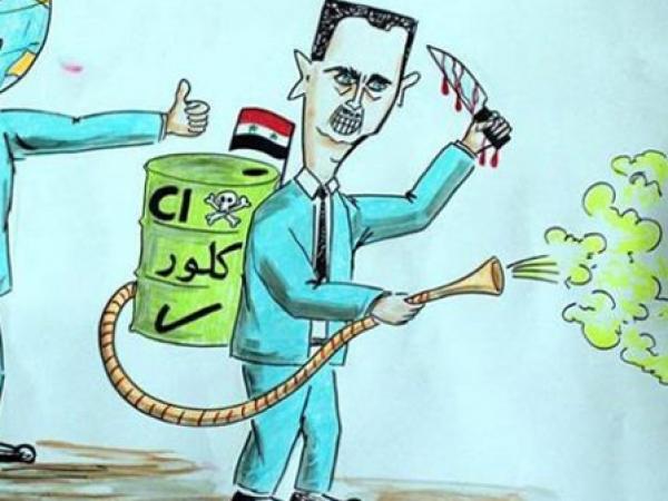 صورة أتلانتك: ما تبعات مواصلة استخدام الأسد للأسلحة الكيماوية؟