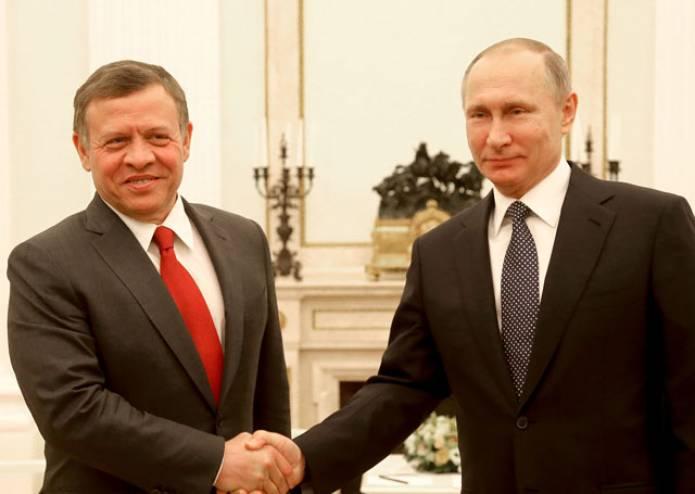 صورة قمة أردنية روسية لبحث السلام وأزمة سوريا