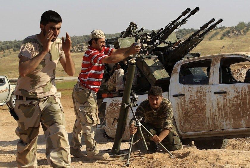 صورة الإسلامي السوري يطالب بتحريك الجبهات لدعم الغوطة
