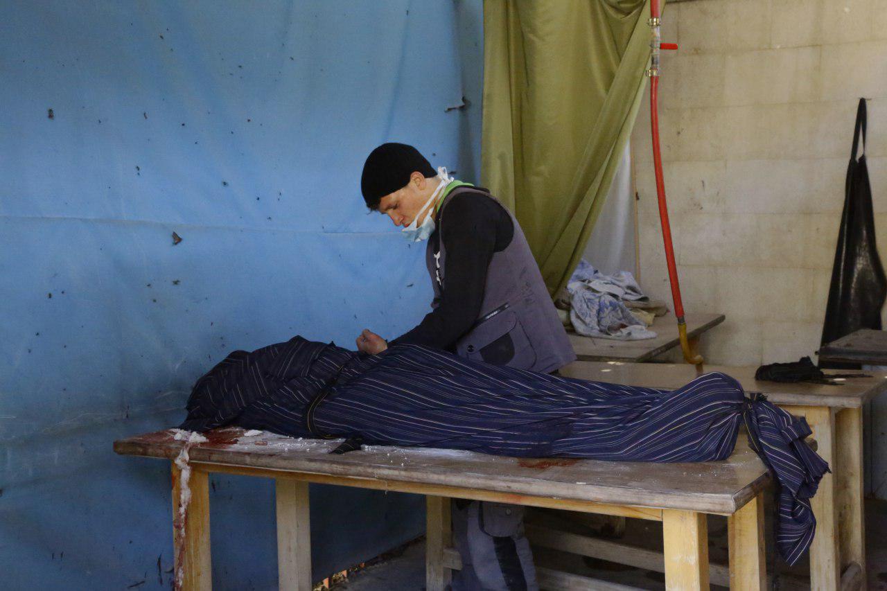 صورة مقتل 729 مدنيا في الغوطة..الأسد وروسيا ارتكبا 40 مجزرة