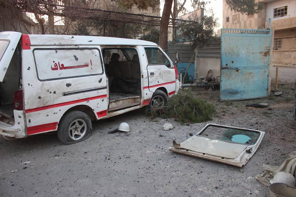 صورة تقارير: إيران هاجمت الغوطة بصاروخ سام