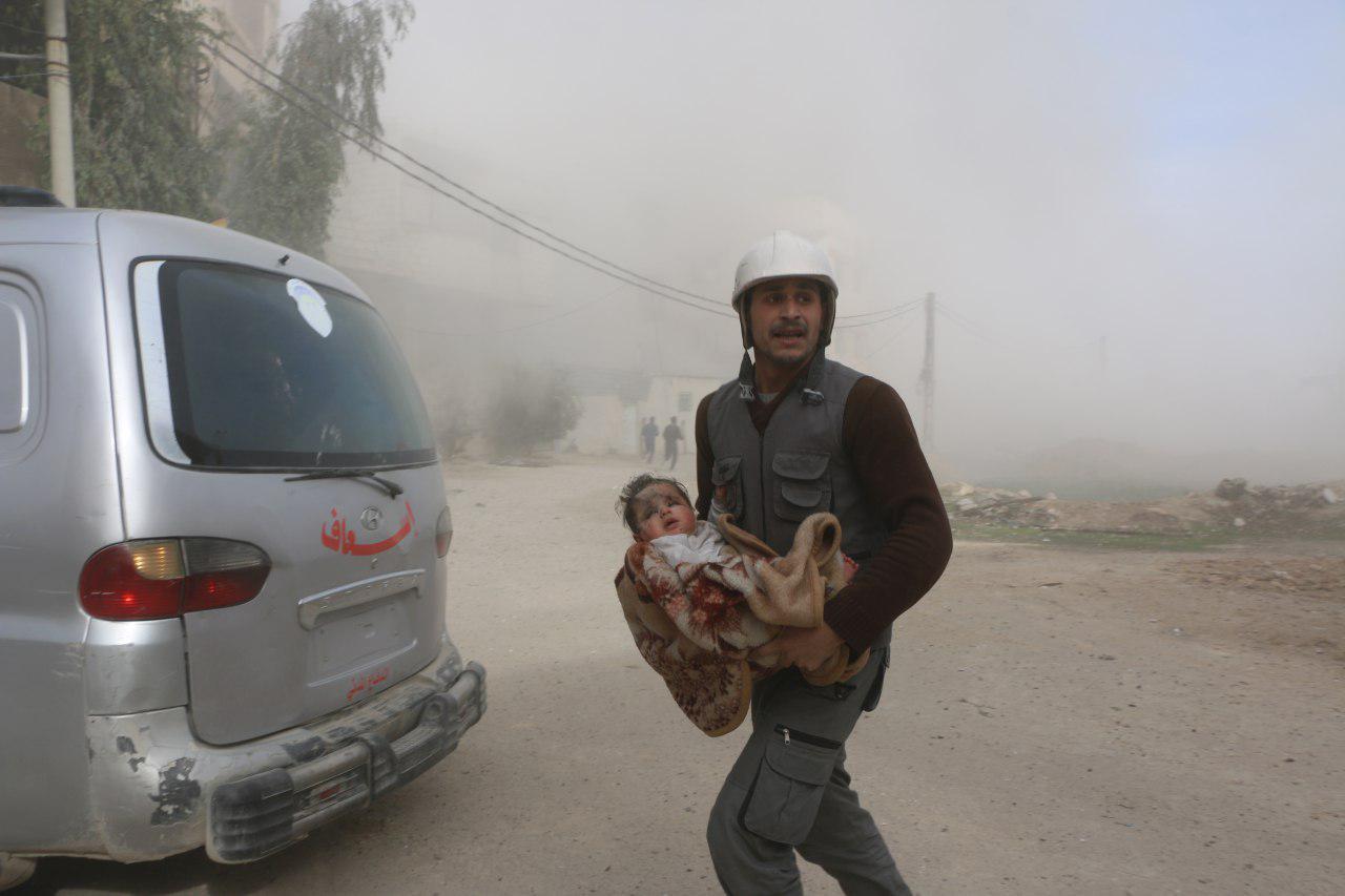 صورة منظمات المجتمع المدني تطلق حملة لدعم الغوطة