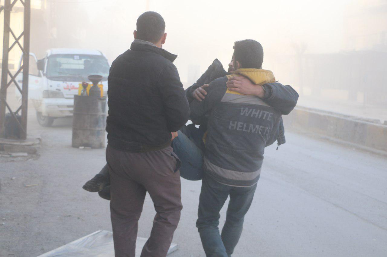 صورة مذبحة الغوطة..تشرذم عربي وعالم صامت