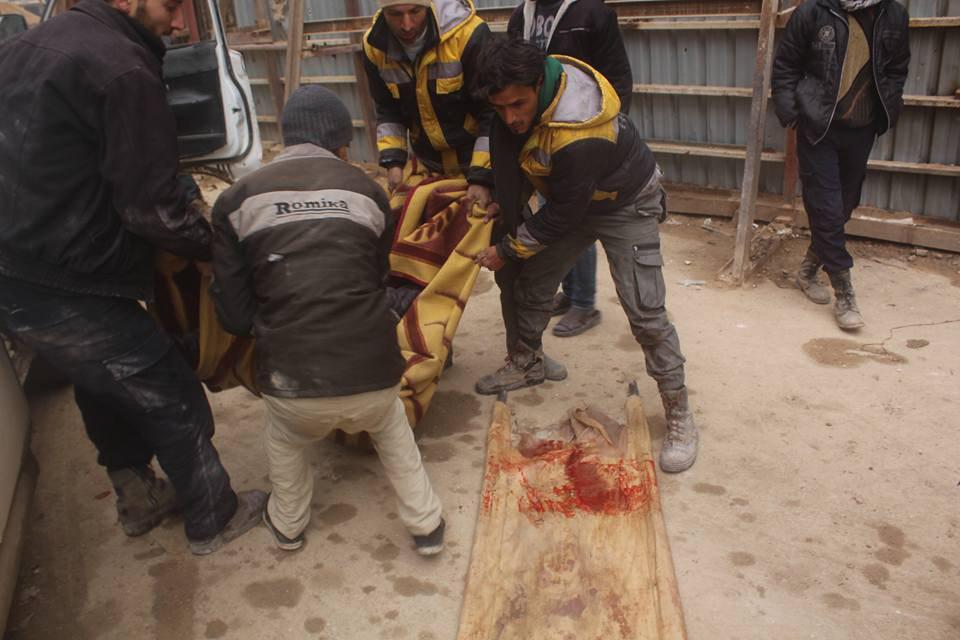 صورة القنابل تفرض حياة جديدة على أهالي الغوطة