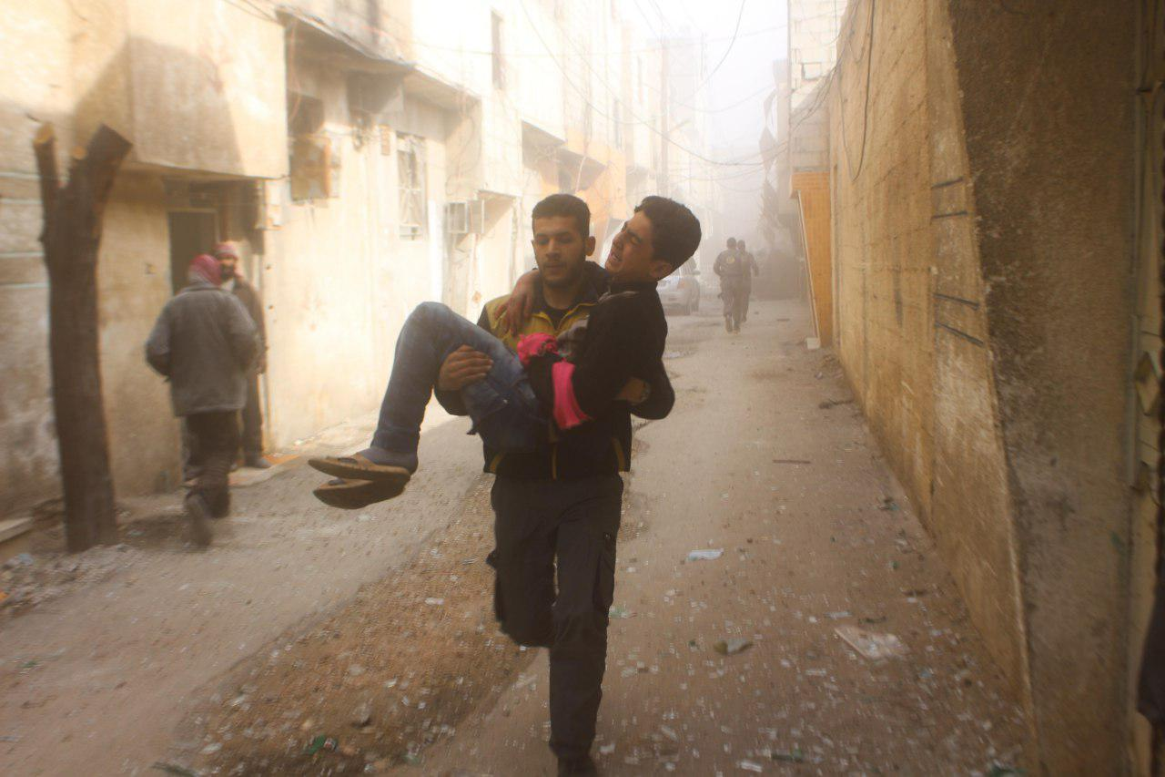 صورة الغوطة..400 قتيل وألف جريح خلال 4 أيام