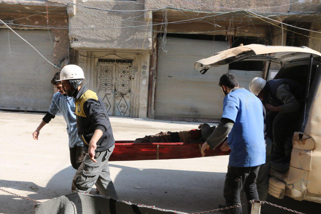 صورة الصليب الأحمر: هدنة الخمس ساعات قصيرة للغاية