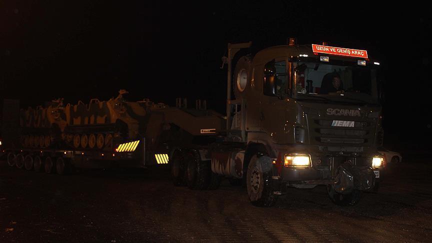 صورة رتل تركي يدخل إدلب لإقامة نقطة مراقبة