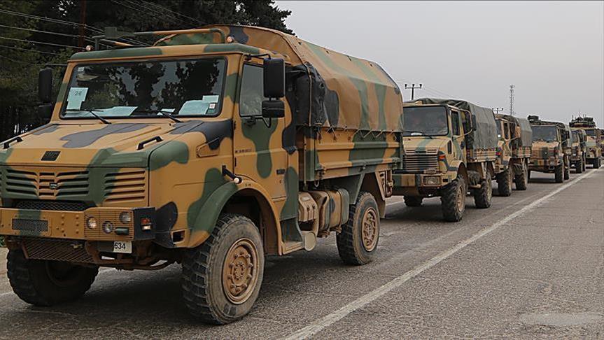 """صورة رتل تركي يصل ريف حلب لمراقبة """"خفض التوتر"""""""