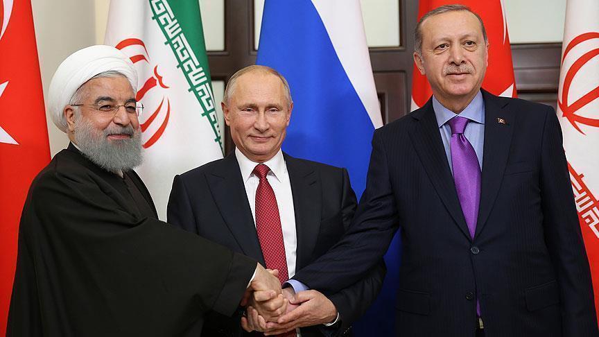 صورة قمة روسية تركية إيرانية مرتقبة