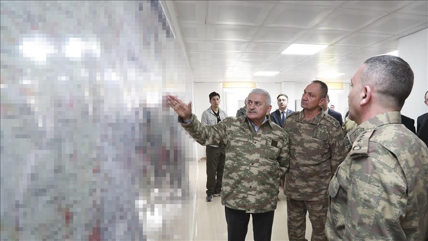 """صورة أكثر من 90 هجوما صاروخيا استهدف تركيا منذ انطلاق """"غصن الزيتون"""""""