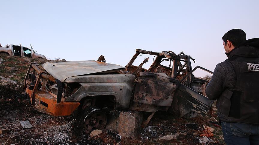 """صورة إحباط هجوم انتحاري كان يستهدف الجيشين """"التركي والحر"""""""