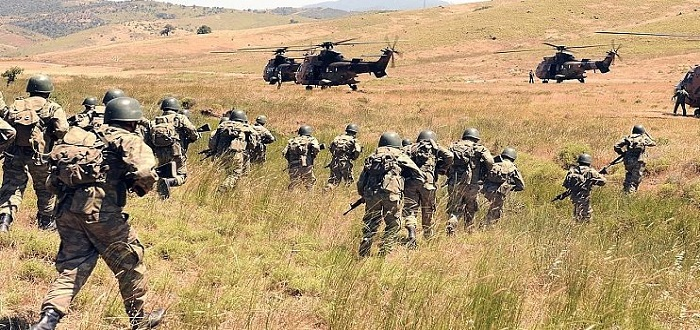 صورة 70 قتيلا للوحدات الكردية بآخر معارك عفرين