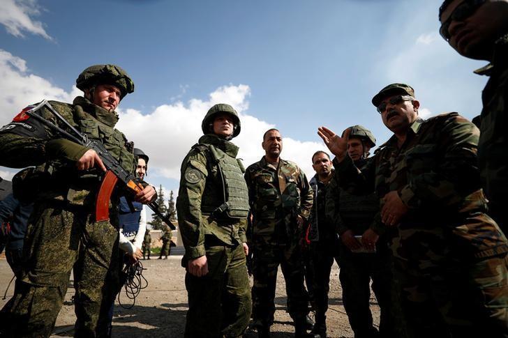 صورة الأسد يستعد لهجوم ضخم على دوما