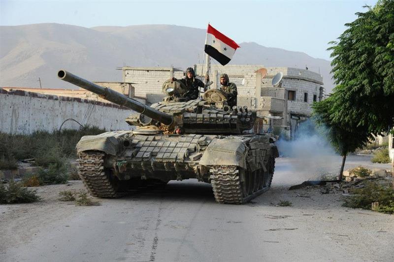 صورة 7 آلاف دبابة ومدرعة فقدها الأسد منذ 2011