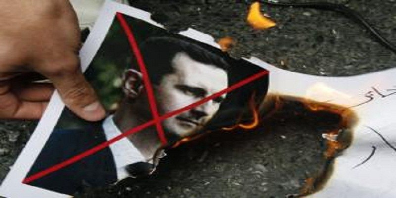 """صورة سوريون وعرب يحضرون """"ليلة سقوط"""" النظام"""