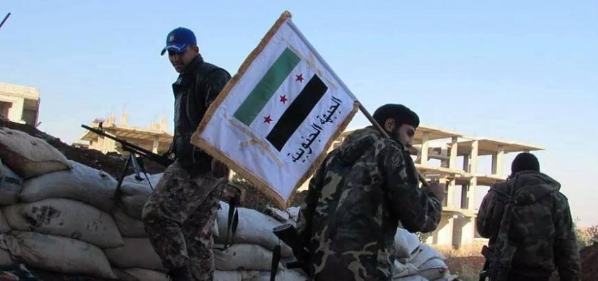 """صورة درعا..اشتباكات بين فصيلين لـ""""الحر"""""""
