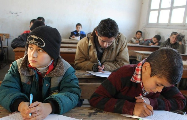 صورة تدمير مشفى بحماة..وإغلاق مدارس إدلب