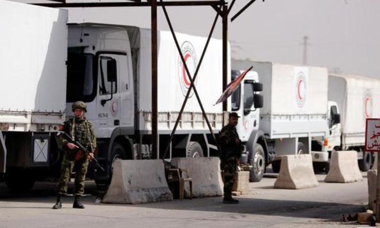 صورة الغوطة..الأسد يصادر اللوازم الطبية الأممية