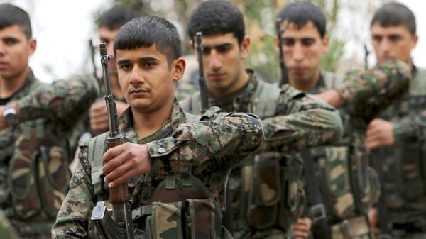 صورة فرنسا تستقبل وفداً للوحدات الكردية