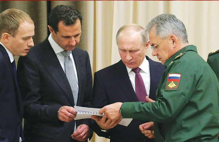 صورة واشنطن بوست: بوتين يقتل السوريين لتجنيب جيشه الخسائر