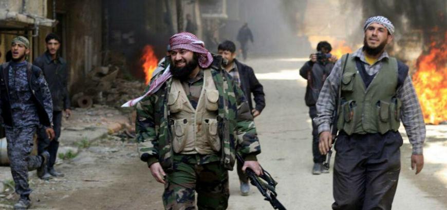 صورة 80 قتيلا للأسد في الغوطة بـ 5 دقائق