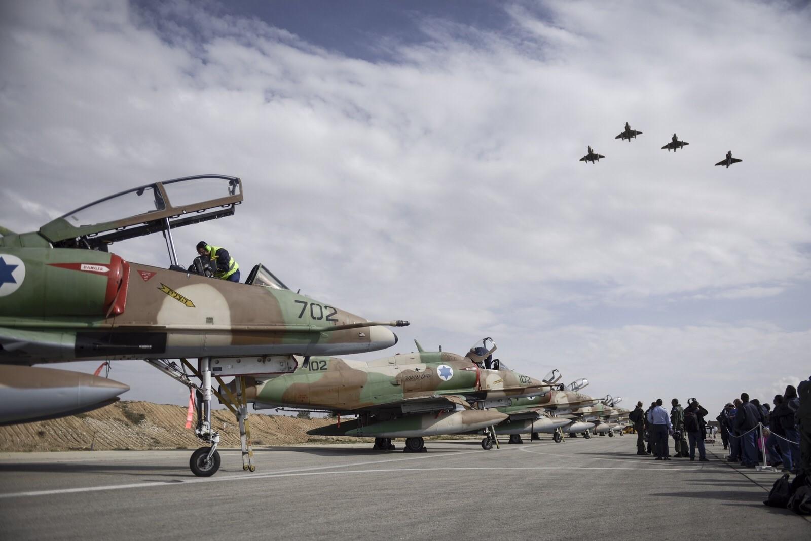 صورة الجيش الإسرائيلي: استأنفنا الغارات في سوريا