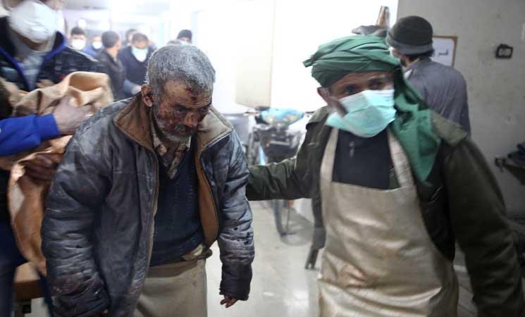 صورة الحرب السورية..511 ألف قتيل