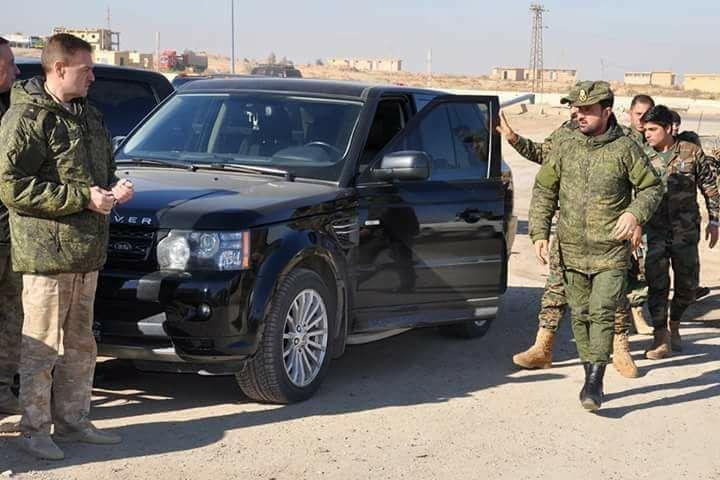 """صورة صور.. ضباط روس يلازمون """"النمر"""""""
